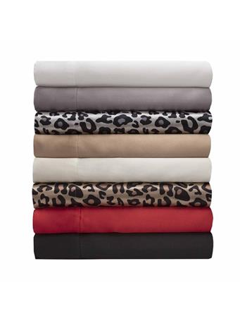 Luxury Satin Sheet Set SNOW-LEOPARD