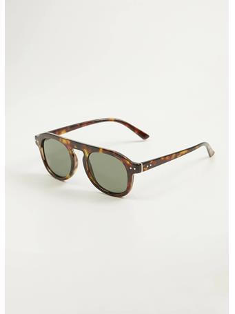MANGO - Milan Sunglasses - Brown {#color}