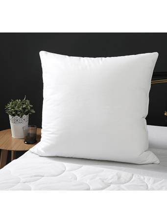 VELVET TOUCH - Euro Square Pillow WHITE