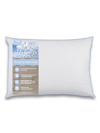 ISO-PEDIC - Pillow Tranquility Fresh Linen Jumbo Pillow WHITE