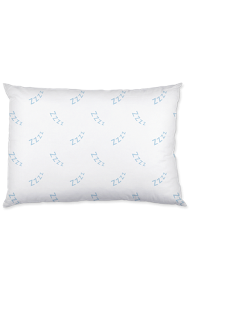 Twin-Pack Best Dreams Ever Zzz Pillow WHITE