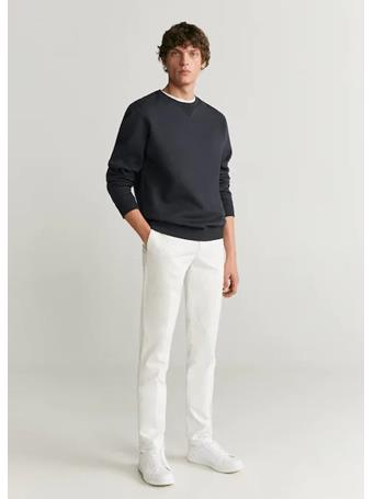 MANGO - Dublin6 Trousers 2-OFF-WHITE