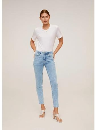 MANGO - Jeans Skinny Sculpt 51LIGHT-BLUE
