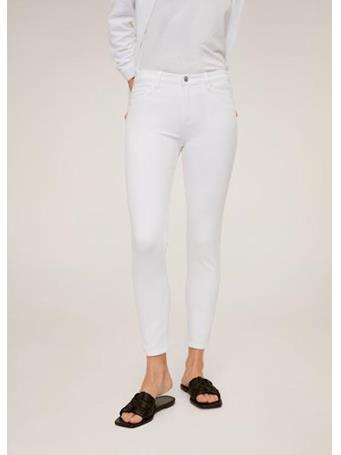 MANGO - Jeans Skinny Sculpt - White WHITE