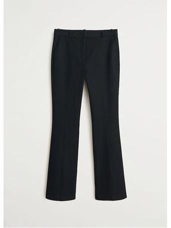 MANGO - Flared Cotton Pants {#color}