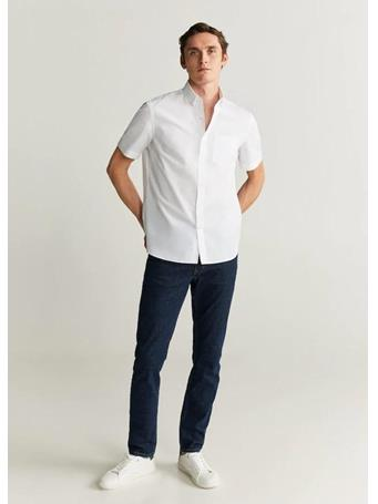 MANGO - Ginza Shirt WHITE