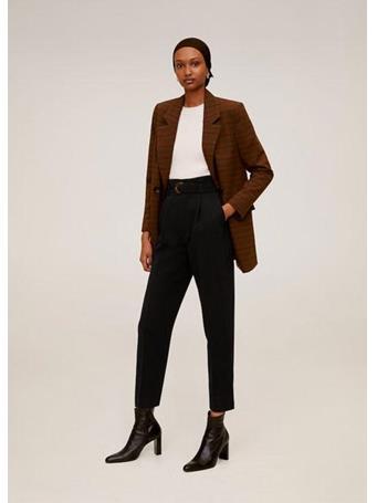 MANGO - Belted Crepe Pants {#color}