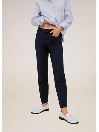 MANGO - Cotton Crop Pants {#color}