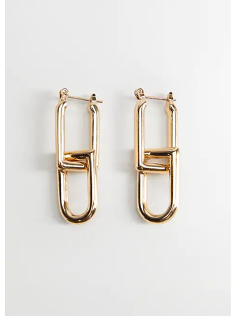 MANGO - Detachable Earrings GOLD