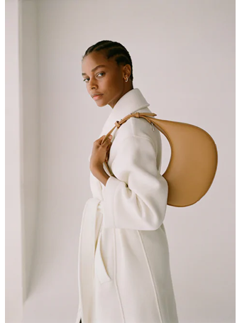 MANGO - Oval Short Handle Bag {#color}