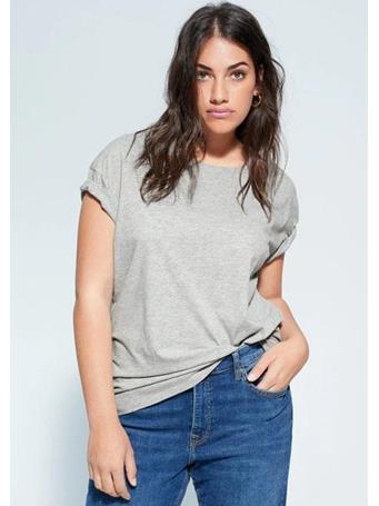 Violeta by MANGO - Organic Cotton Essential T-Shirt {#color}