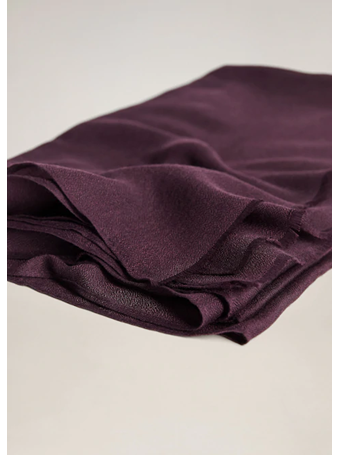 MANGO - Recycled Polyester Scarf 64PURPLE