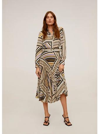 MANGO - Pleated Skirt Dress {#color}