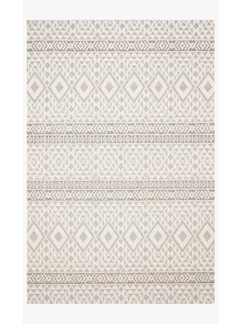 LOLOI - Cole Rug Collection SILVER/IVORY