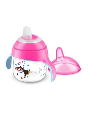 AVENT - Spout Cup Pink 7 OZ. No Color