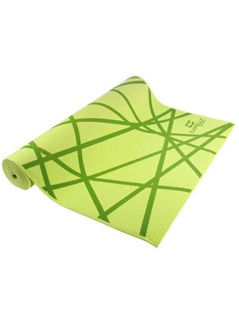 CAPELLI - 4Mm Printed Yoga Mat GREEN