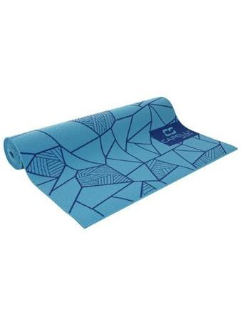 CAPELLI - 4Mm Yoga Mat Stained Glass BLUE-COMBO