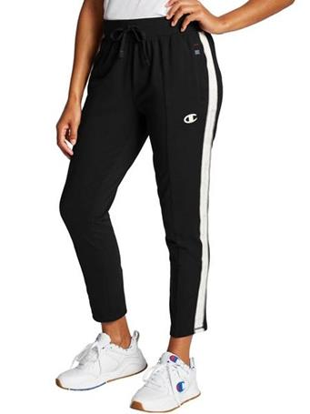 CHAMPION - Her Pant With Taping BLACK