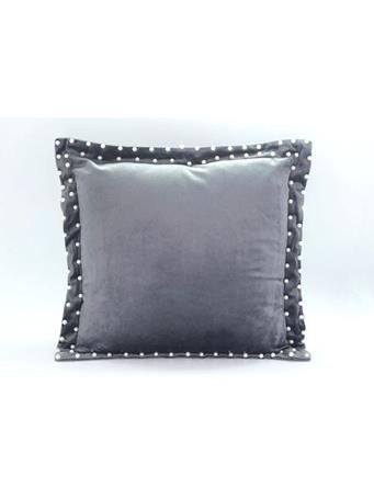 Decorative Pillow In Solid Velvet With Flange {#color}