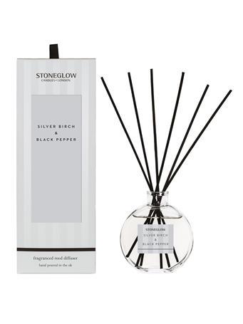 STONEGLOW - Modern Classics Silver Birch & Black Pepper Reed Diffuser NO-COLOUR