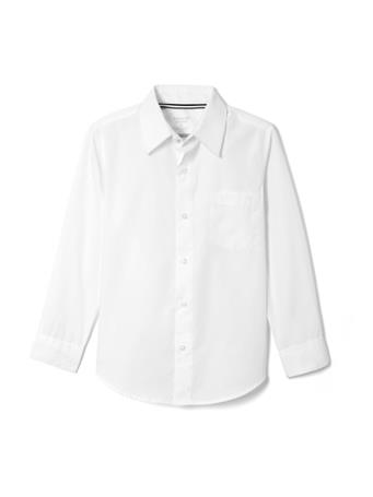 FRENCH TOAST - Long Sleeve Shirt Expandable Collar WHITE