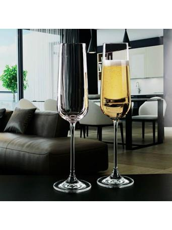 CHANTAL -Set of 4 -9OZ Champagne Flute CLEAR