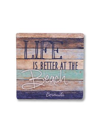 Life Is Better At The Beach Coaster {#color}