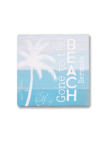 Gone To The Beach Coaster {#color}
