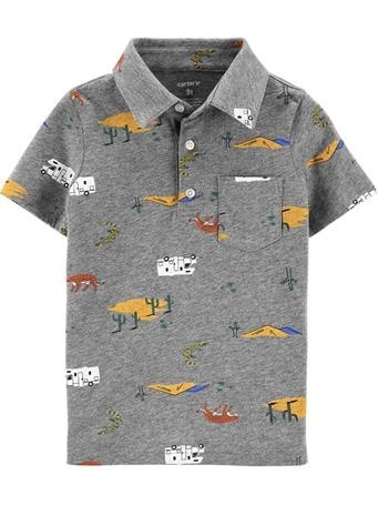 CARTER'S - Printed Polo Shirt  NOVELTY