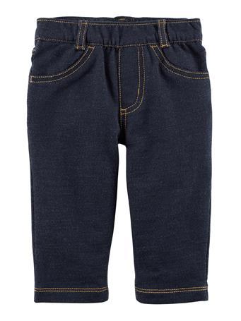 CARTER'S - Pull-On Denim Style Pant  DENIM-BLUE