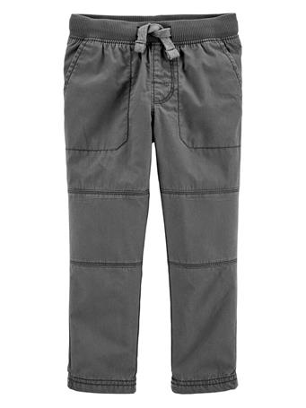 CARTER'S - Reinforced Knee Pull-On Pant CHARCOAL
