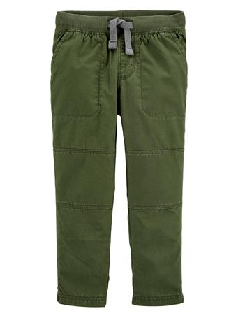 CARTER'S - Reinforced Knee Pull-On Pant OLIVE