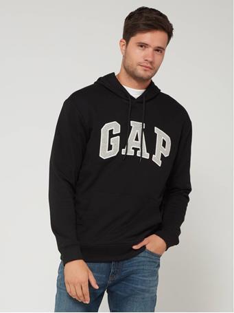 GAP - Logo Male Padded Hoodie TRUE-BLACK-V2-2