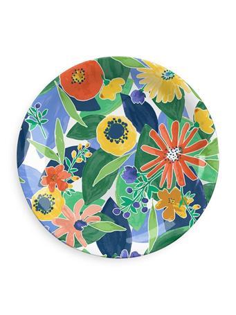 TARHONG - Midsummer Floral Dinner Plate No Color