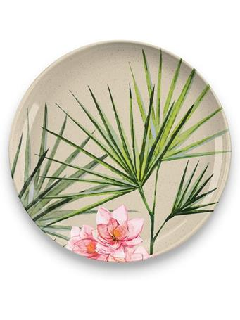 TARHONG - Palermo Tropical Bamboo Salad Plate No-Color