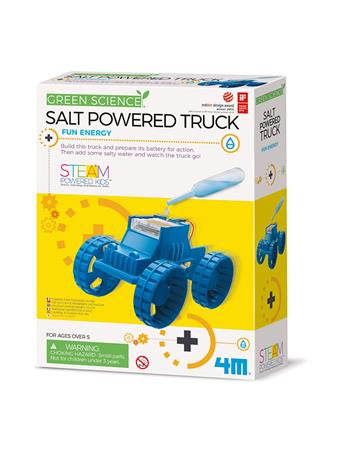 Green Science Salt Powered Truck NO-COLOR