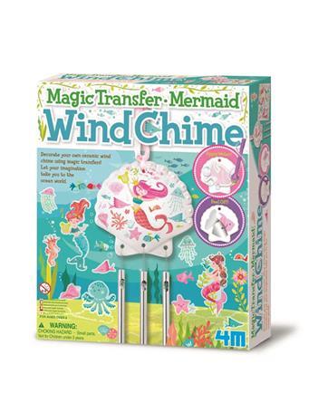 Magic Transfer Mermaid Wind Chime Kit NO-COLOR