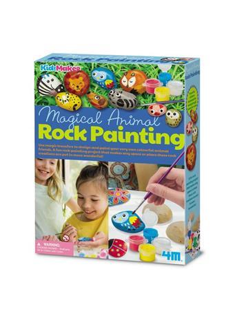 Kidz Maker Animal Rock Painting Craft Kit {#color}