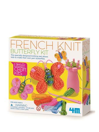 French Knit Butterfly Craft Kit NO-COLOR