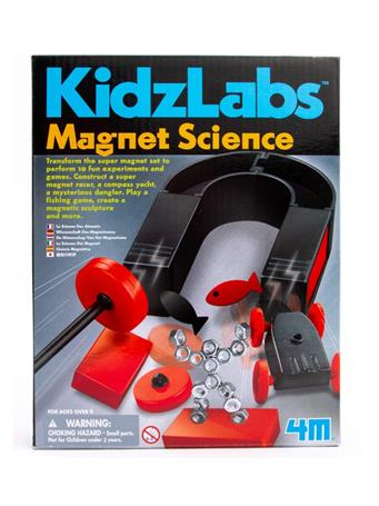 Kidz Labz Magnet Science Kit NO-COLOR