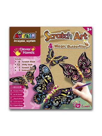 Magic Butterflies Craft Set NO-COLOR