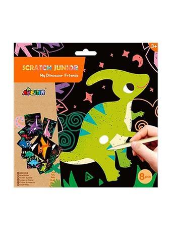 Scratch Junior My Dinosaur Friends Craft Set NO-COLOR