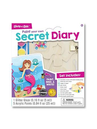 WORKS OF AHHHH Secret Diary Paint Kit NO-COLOR