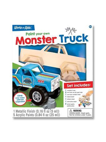 WORKS OF AHHHH Monster Truck Paint Kit {#color}