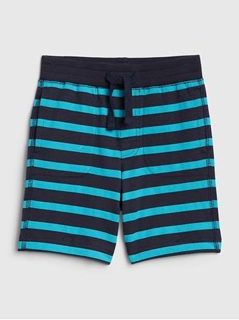 GAP - Toddler Print Pull-On Shorts STRIPE-NAVY