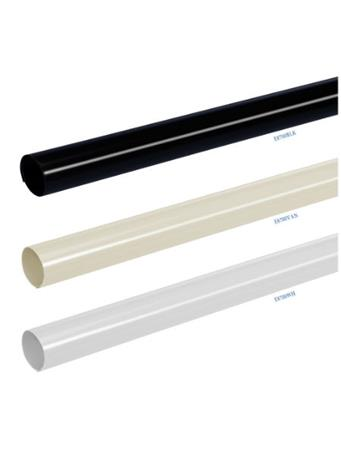 PLASTIC ROD COVER WHITE