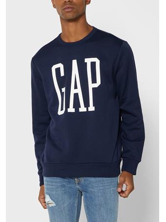 GAP - Logo Sweatshirt TAPESTRY NAVY