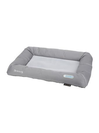 SCRUFFS COOL BED GREY MED 29.5x21 GREY