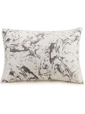 AYESHA CURRY - Marbelous Pillow Sham WHITE