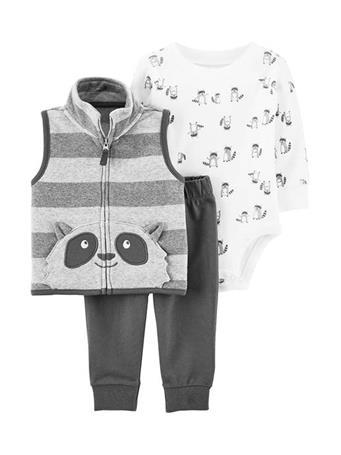 CARTER'S - 3 Piece Vest Set NOVELTY